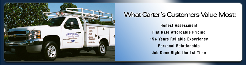Carters Plumbing and Rooter
